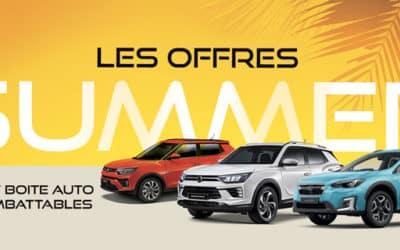 Les Offres SUMMER LANES AUTOMOBILES