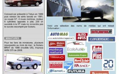 Les News Subaru – Mai 2021